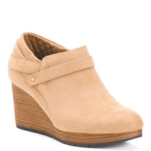 Dr. Scholl's 'What's Good' Wedge Booties
